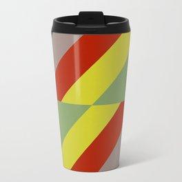 Modernist Geometric Graphic Art Travel Mug