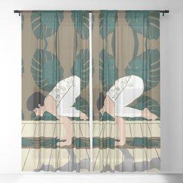 Yoga Sheer Curtain