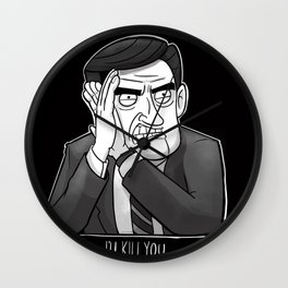 The Exit Interview Wall Clock