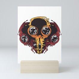 Alien Basement Mini Art Print