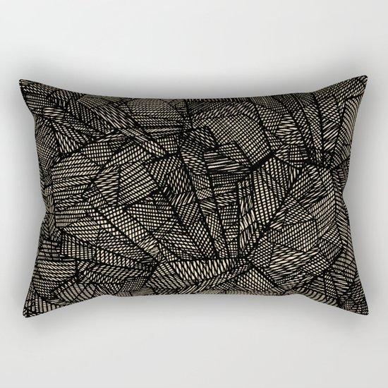 - étoile noire [blackstar] - Rectangular Pillow