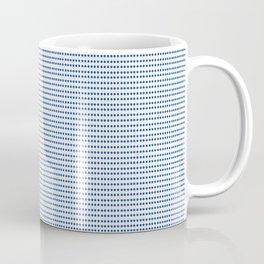 Navy Polka Dots Coffee Mug