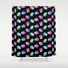 Pastel Pumkins Shower Curtain