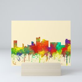 Lubbock, Texas Skyline - SG Mini Art Print