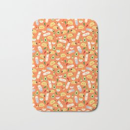 Tacos and Burritos Bath Mat