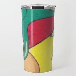 Lichtenstein Fidget Spinner Travel Mug