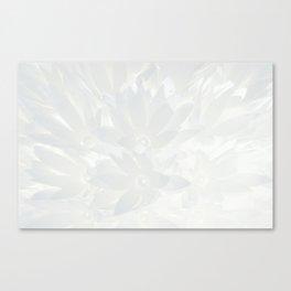 Shiny flower Canvas Print