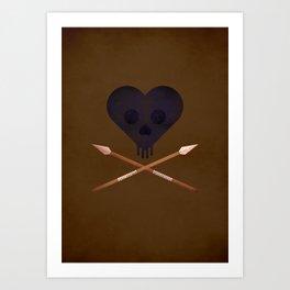 Heart of Darkness - NO TEXT Art Print