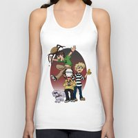 pewdiepie Tank Tops featuring Sup Bro Audience  by Always Dreah Illustration