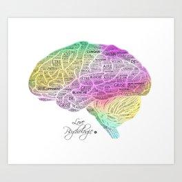 Cerveau Art Print