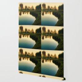 Gently Central Park Reservoir Wallpaper