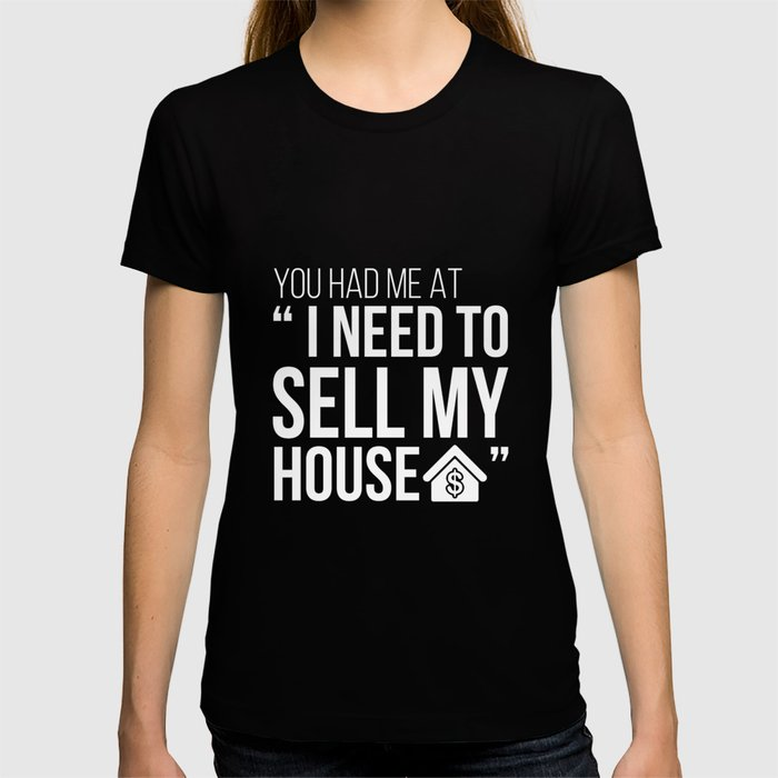 395546345 Funny Realtor Shirt You Had Me at