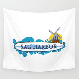 Sag Harbor - Long Island. Wall Tapestry