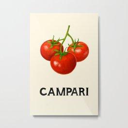 Campari Tomatoes Metal Print