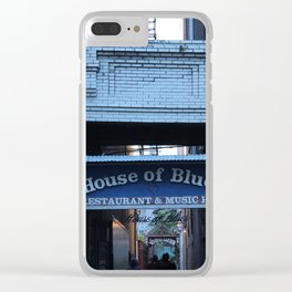 Hall of House of Blues Clear iPhone Case