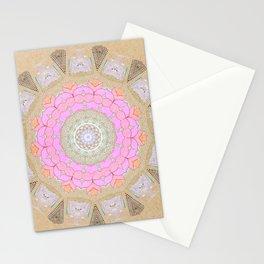 Lotus Blossom Mandala Stationery Cards