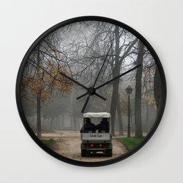 Autumn in Retiro Wall Clock