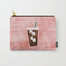 Iced Coffee Carry-All Pouch