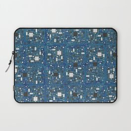 Blue tech Laptop Sleeve
