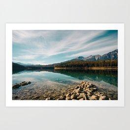 Patricia Lake Art Print