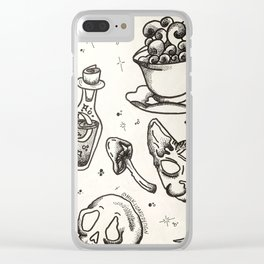 Witchy Flash Clear iPhone Case