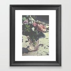 euphoric flowers  Framed Art Print