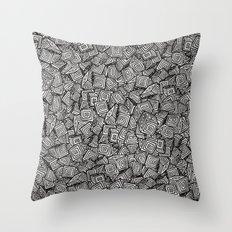 Chaos!! Throw Pillow