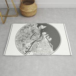 Copenhagen Map Universe Rug