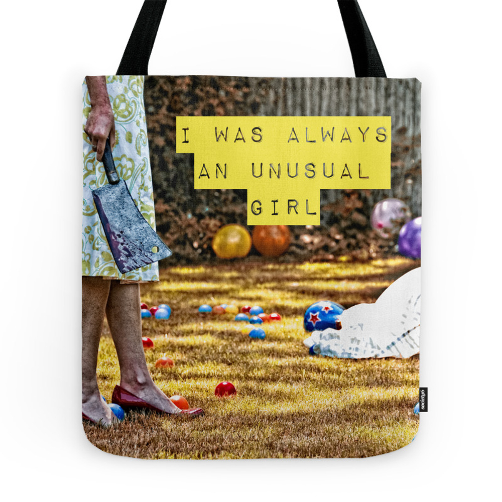 I was Always an Unusual Girl - Jest - NikytaGaia Photography Tote Purse by nikytagaiaphotography (TBG4668494) photo