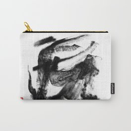DIGITAL INDIAN INK - TORA (虎) Carry-All Pouch