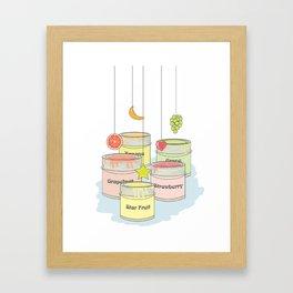 iFruit Framed Art Print