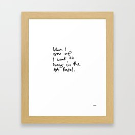 Art Basel Framed Art Print