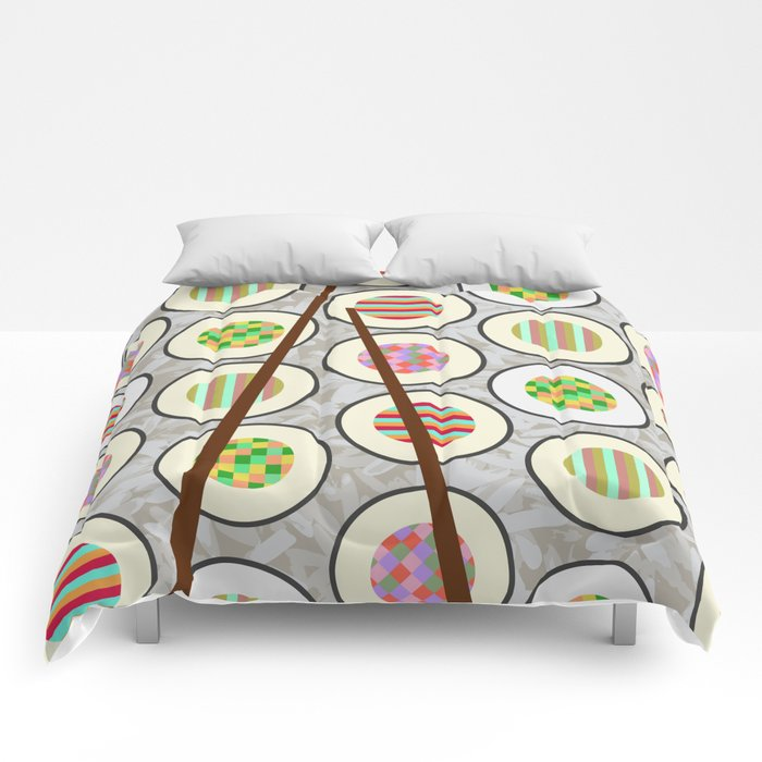 SushiTime Comforters