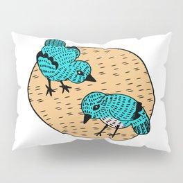 Cooky Birds Pillow Sham