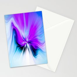 Abstract Moving Butterfly Design Stationery Cards