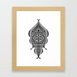Doodle Flow Framed Art Print