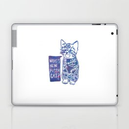 What's New Pussycat Laptop & iPad Skin