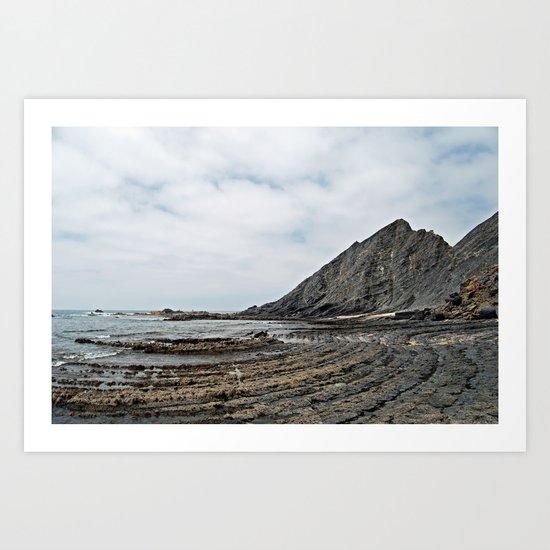 Praia da Amoreira, Portugal Art Print