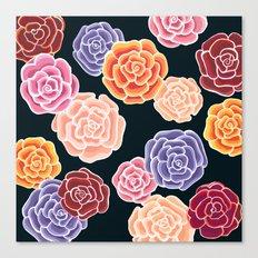 rosy days Canvas Print
