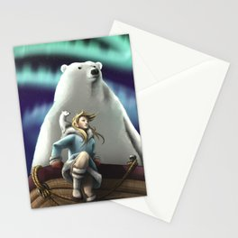 Lyra of the Golden Compass Stationery Cards