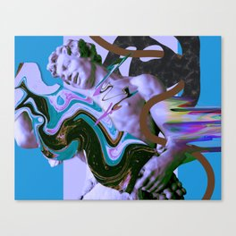 """Unnatural Selection"" (air edit) Canvas Print"