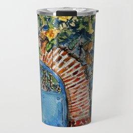 Blue Gate Travel Mug