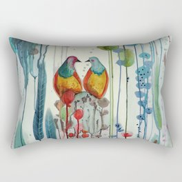 La belle histoire Rectangular Pillow