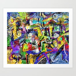 Carbonated Misgivings IV Art Print