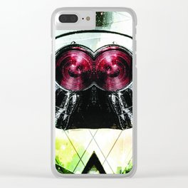 flare Clear iPhone Case