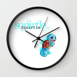 Water Starter 1 Wall Clock