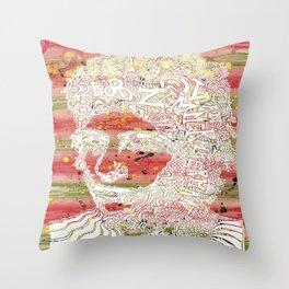 Bob Dylan #7 Throw Pillow