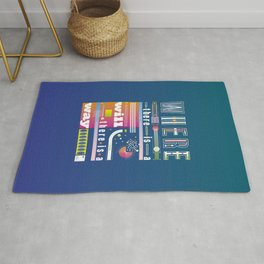 Where there is a will there is a way Rug