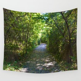 Point Pelee National Park Trails in  Leamington, Ontario, Canada Wall Tapestry