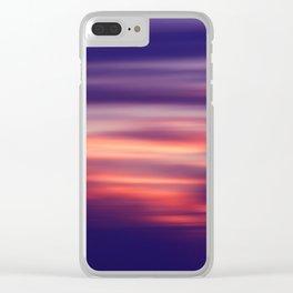 Dusk Dream Clear iPhone Case